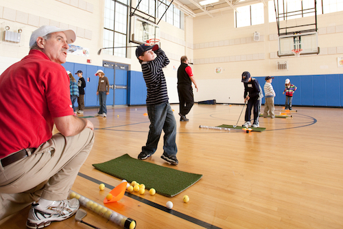 A different way to get kids hooked on golf